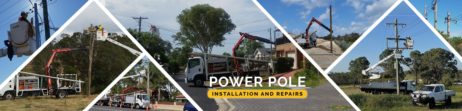 Power Pole Installation And Repairs