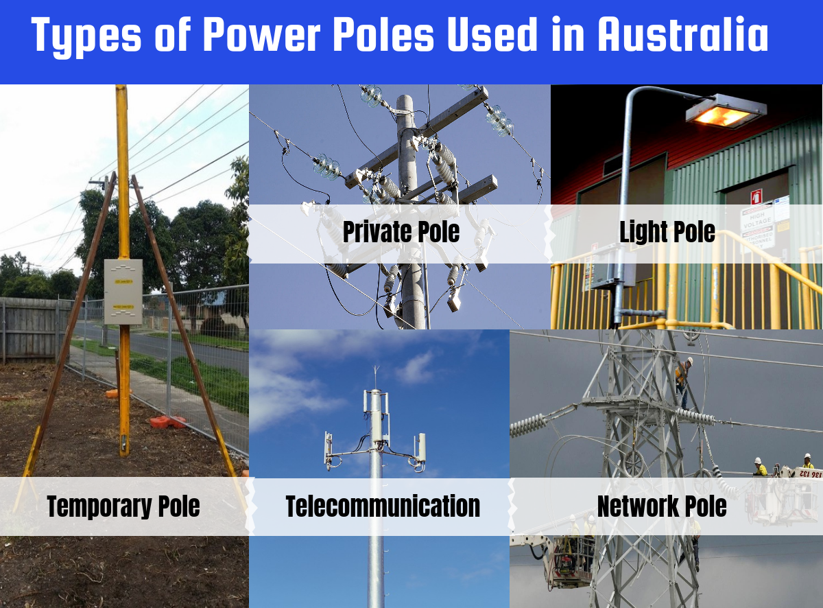 Types of Power Poles Used in Australia - Eris Electrical